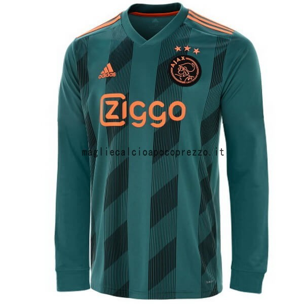 Seconda Manica lunga Ajax 2019 2020 Verde
