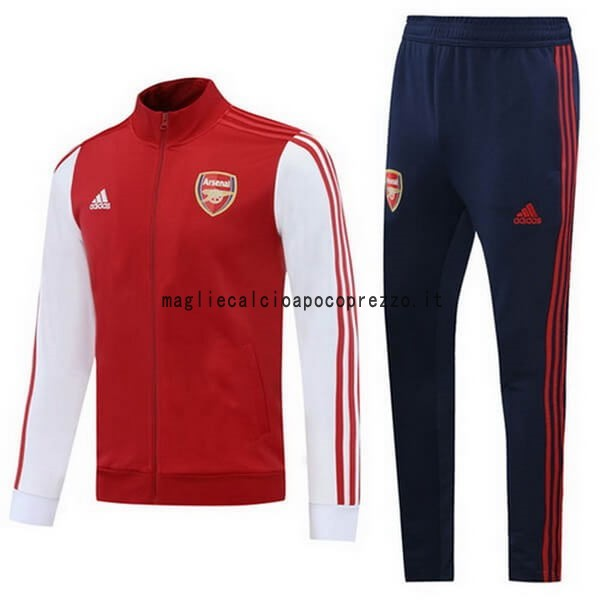 Giacca Arsenal 2020 2021 Rosso Bianco