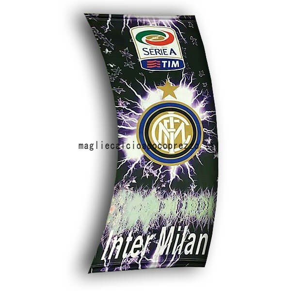 Calcio Bandiera de Inter Milán Nero