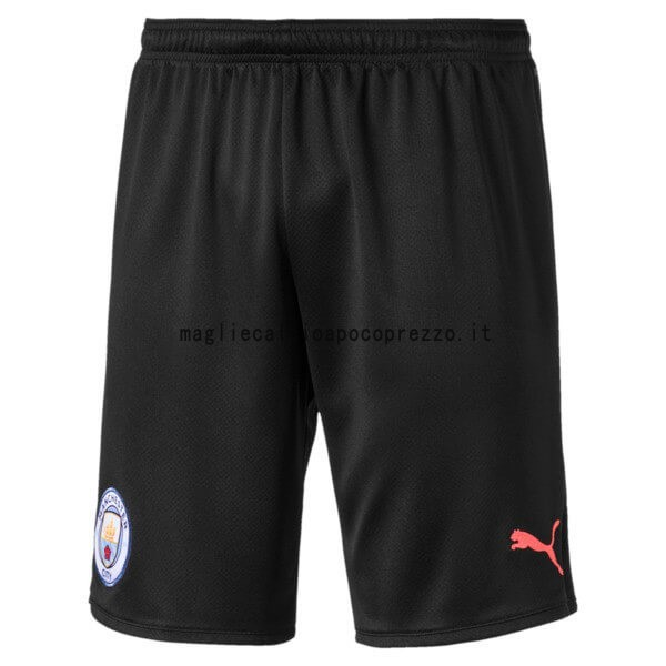 Seconda Pantaloni Manchester City 2019 2020 Nero