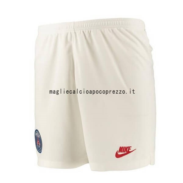 Terza Pantaloni Paris Saint Germain 2019 2020 Bianco