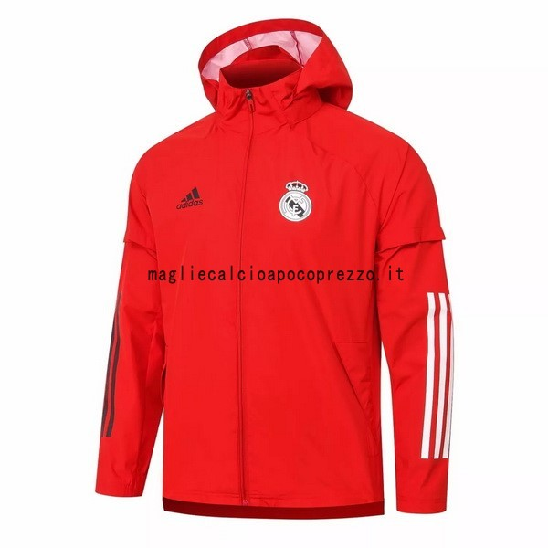 Giacca a vento Real Madrid 2020 2021 Rosso
