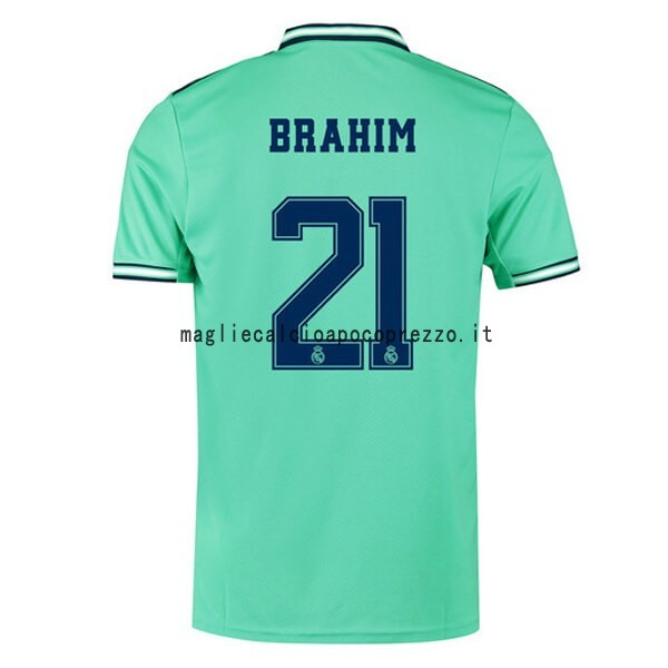 NO.21 Brahim Terza Maglia Real Madrid 2019 2020 Verde